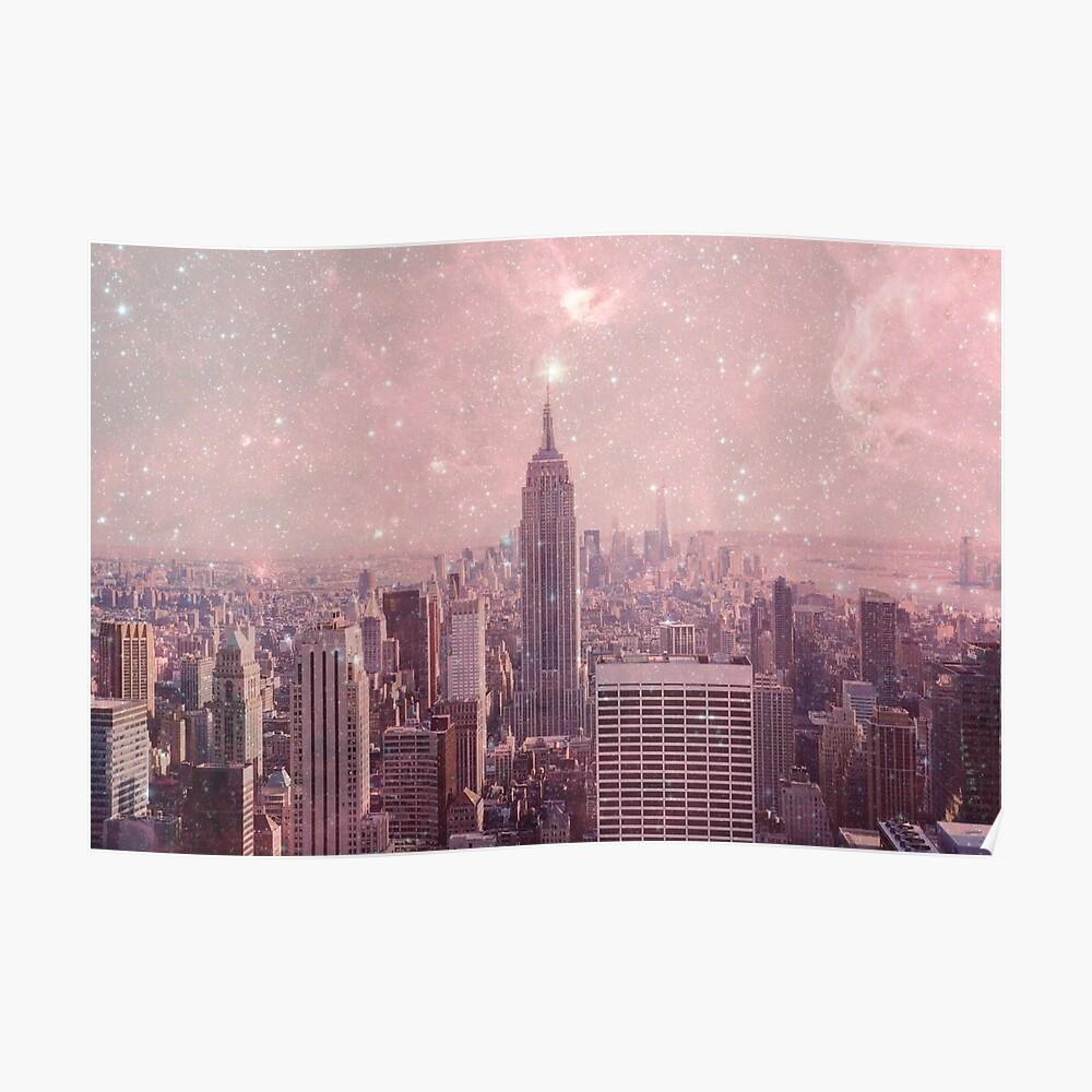 Stardust, der New York bedeckt Poster
