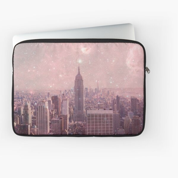 Stardust Covering New York Laptop Sleeve
