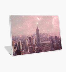 Stardust, der New York bedeckt Laptop Skin