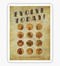 Bioshock Plasmids By Ryan Industries Sticker