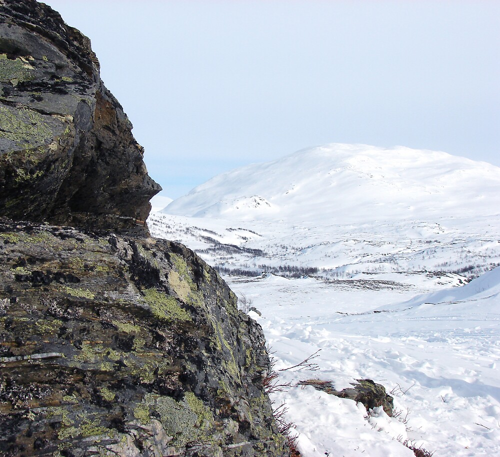 Bare mountain by evamarina