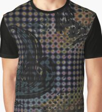 Half Tone Slick Graphic T-Shirt