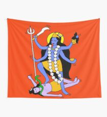 Kali Indian Style Wall Tapestry
