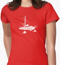 Jaws - Orca with Barrels Women's Fitted T-Shirt