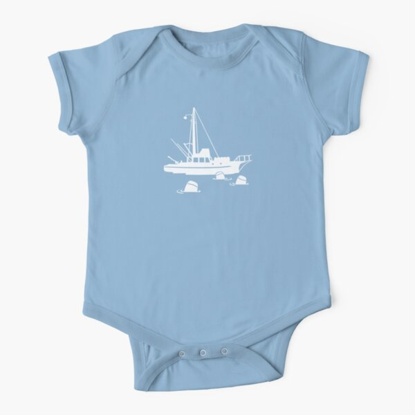 Jaws - Orca with Barrels Short Sleeve Baby One-Piece