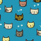 Cute and Cheery Cats by Bronte Carr