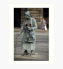 Anonymous Pedestrians Art Print