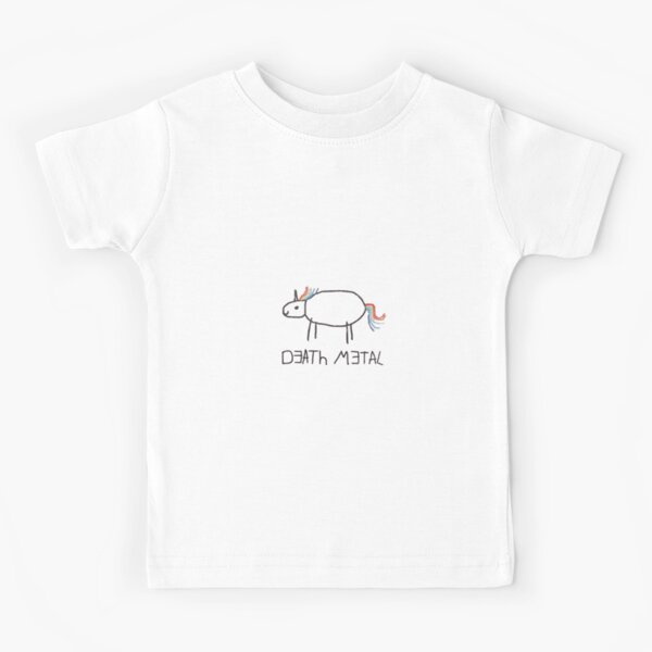 Death Metal Unicorn Kids T-Shirt