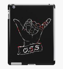 OSS Hand ( BJJ / Brazilian Jiu Jitsu ) iPad Case/Skin