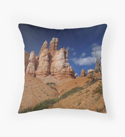 """Bryce Canyon """"trees"""" Throw Pillow"""