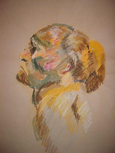 Study of the head  by Irishchicky