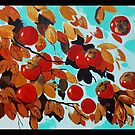Persimmon Tree by Lydia Quinones