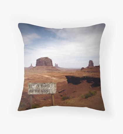 What Horse? Throw Pillow