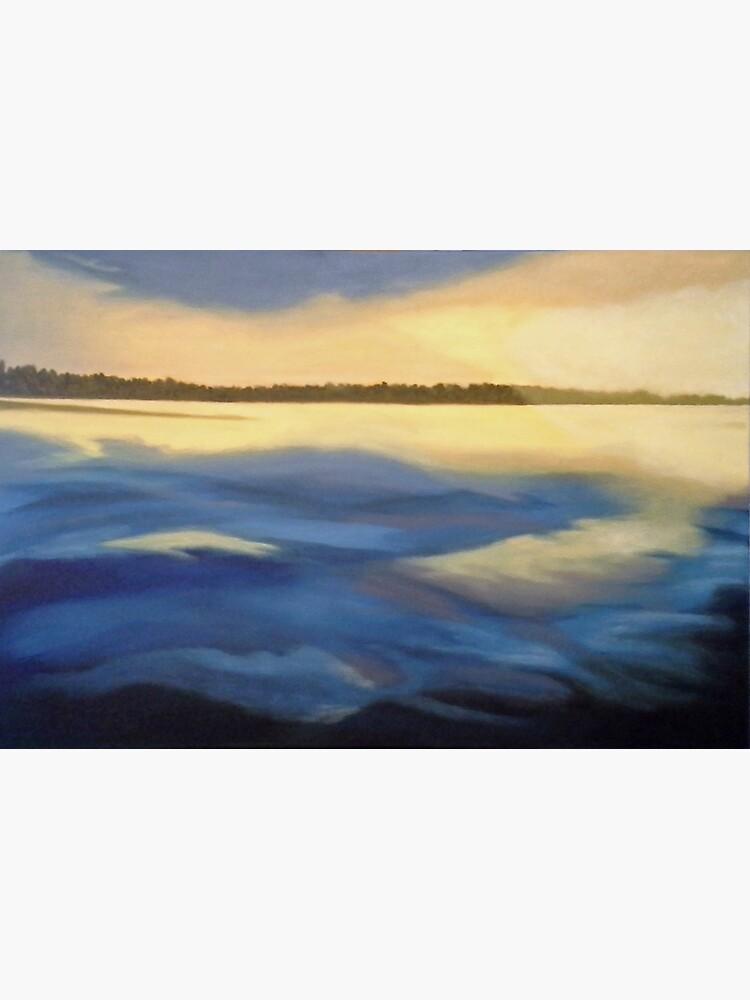 Illumination Ocean Painting by irenebernhardt