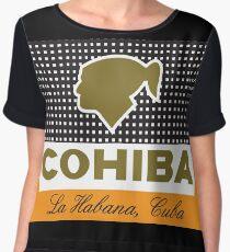 COHIBA Chiffon Top