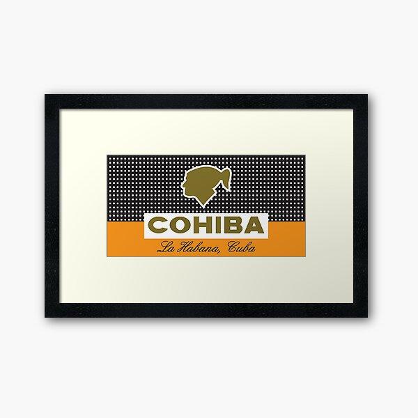 COHIBA Framed Art Print