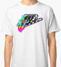 Glitched logo Classic T-Shirt