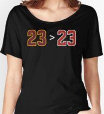 James over Jordan - 23 > 23 Women's Relaxed Fit T-Shirt