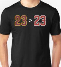 James over Jordan - 23 > 23 Unisex T-Shirt