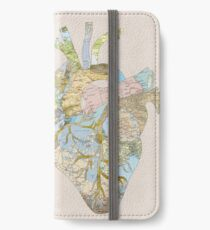 A Traveler's Heart (N.T.) iPhone Wallet/Case/Skin