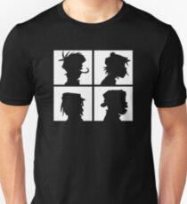 Gorillaz Demon Days Silhouette  T-Shirt
