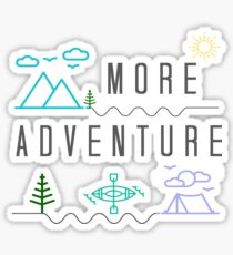 Get Outside for More Adventure  Sticker