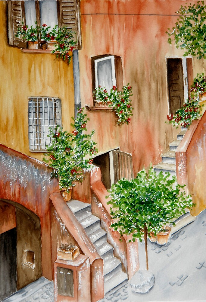 Roma's Corner by Roberta Ponte