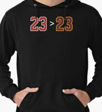 Jordan over James - 23 > 23 Lightweight Hoodie