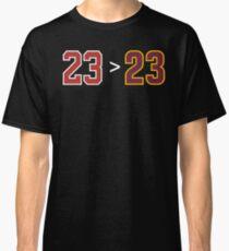 Jordan over James - 23 > 23 Classic T-Shirt