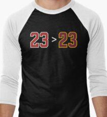 Jordan over James - 23 > 23 Men's Baseball ¾ T-Shirt
