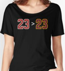 Jordan over James - 23 > 23 Women's Relaxed Fit T-Shirt
