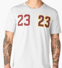 Jordan over James - 23 > 23 Men's Premium T-Shirt