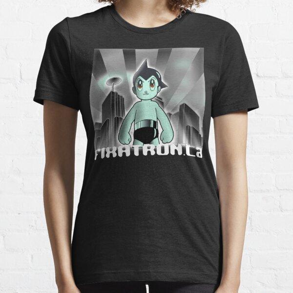 Astroboy Cityscape - Fixatron.ca Essential T-Shirt