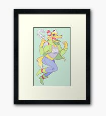 trickster gregg Framed Print