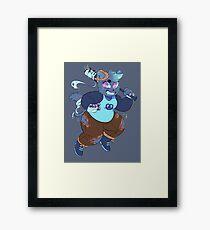 trickster mae Framed Print