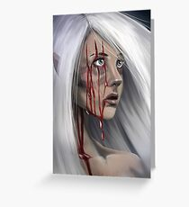 Blood Elf Greeting Card