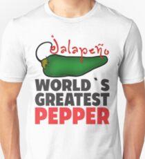 JALAPENO WORLD´S GREATEST PEPPER Unisex T-Shirt