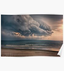 Afternoon Thundershower Poster