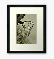 Hoops Framed Print