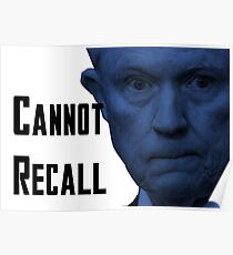 #SessionsHearing - Cannot Recall Poster