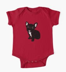 Cute Brindle Frenchie Puppy Kids Clothes