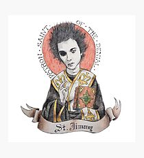 St. Jimmy Photographic Print