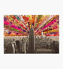 BLOOMING NY Photographic Print