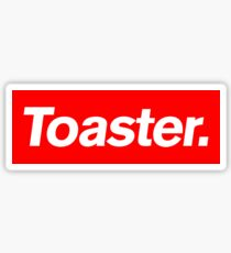 Toaster. Sticker