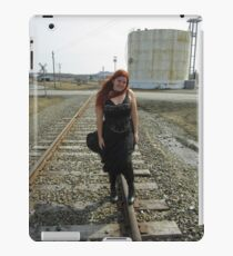 on the tracks  iPad Case/Skin