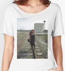 on the tracks  Women's Relaxed Fit T-Shirt