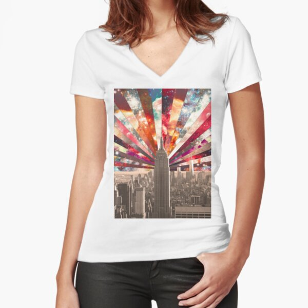 Superstar New York Fitted V-Neck T-Shirt