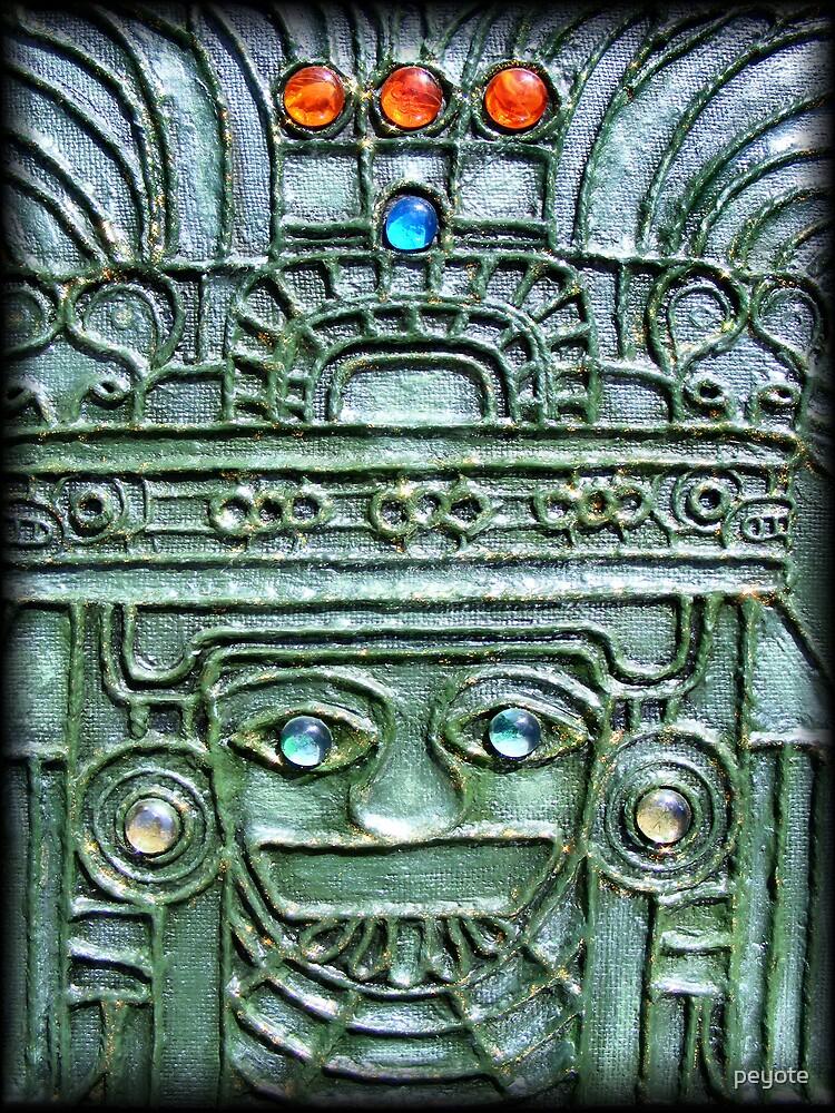 Aztec God by peyote