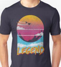 Legend Distressed Design Unisex T-Shirt