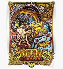 Dead Company June 9 2017 Folsom Field Boulder Colorado  Poster